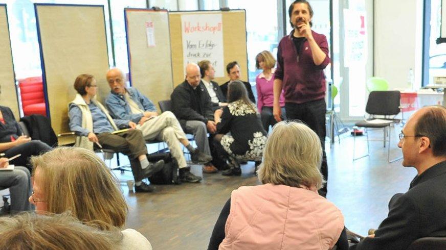 Workshop Selbstständigentag 2012 ver.di Hamburg Gruppe Selbstständige